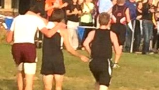 Was This Cross-Country Runner Unfairly Disqualified For Helping An Opponent?