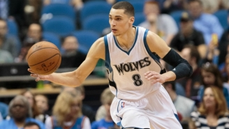 Zach LaVine Will Be The Timberwolves' Starting Shooting Guard This Year
