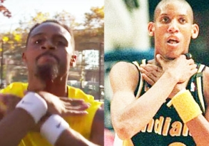 Watch The NBA Impersonator Recreate Reggie Miller's Epic MSG Moment