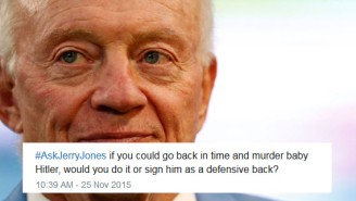 Things Went Horribly Wrong When The NFL Network Did An #AskJerryJones Hashtag