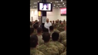 A Businessman Did An Incredible Thing For 400 Troops On A Layover In Ireland