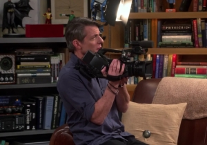 'Big Bang Theory' invites Adam Nimoy to pay tribute to his father