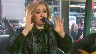Watch Adele Perform 'Million Years Ago' From '25' On 'Today'