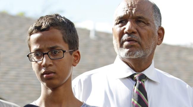 Muslim Boy Accused Of Bringing Bomb Disguised As Clock To Texas School