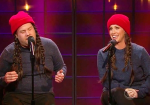 James Corden And Alanis Morissette Updated 'Ironic' And Now It's Perfect For 2015