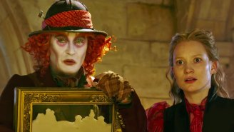 'Alice Through the Looking Glass' has a trailer so there's no pretending this isn't real