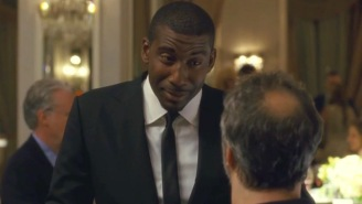 Judd Apatow Brings Amar'e Stoudemire To Tears In This Never Before Seen 'Trainwreck' Featurette