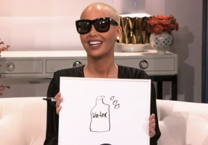 Amber Rose Went Way TMI With Her Feelings On Harry Styles From 'One Direction'