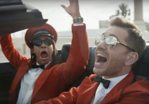 Andy Grammer takes a joyride in new upbeat 'Good To Be Alive' music video