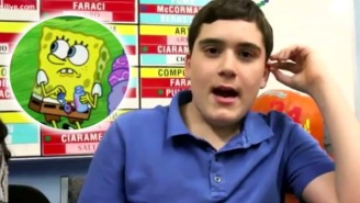 This Autistic Teen Saved A Life Thanks To What He Learned From 'SpongeBob SquarePants'