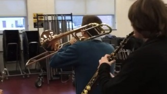 These Band Geeks Are Probably Having More Fun Than You Are Right Now