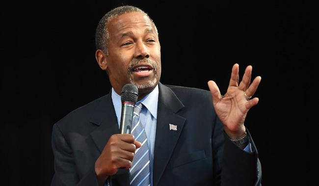 Republican Presidential Candidate Ben Carson Campaigns In Las Vegas Area