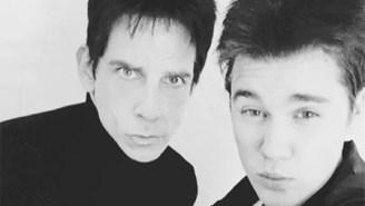 Derek Zoolander Unleashes Blue Steel To Promote Justin Bieber's New Album