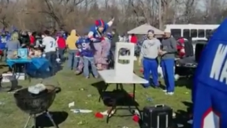 Bills Fans Suffer Crushing Defeat In Their Ongoing War Against Tables
