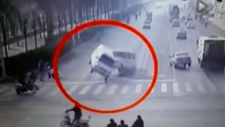This Crazy Car Accident Will Give You Yet Another Thing To Worry About On The Road