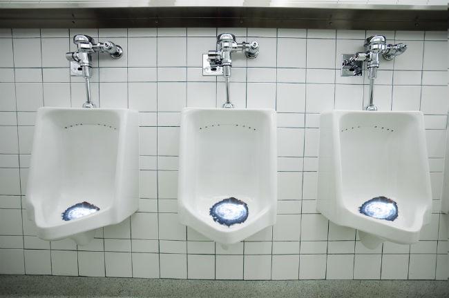 black hole urinal