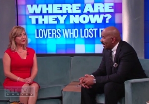 Lorena Bobbitt Tells Steve Harvey That John Contacted After Her Knife-Wielding Actions
