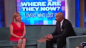 Lorena Bobbitt Tells Steve Harvey That John Contacted After Her Knife-Wielding Actions