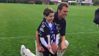 A 6-Year-Old Gave Tom Brady An Adorable Gift During His A Make-A-Wish Visit