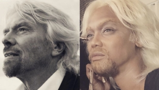 Tyra Banks Channeled Her 'Business Hero' Richard Branson For Her Halloween Costume