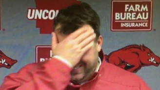 Bret Bielema Was Excited About 'Hopping On His Wife' After Win Over Ole Miss