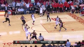 Corey Brewer's Running 30-Footer Sends The Rockets To Overtime Against The Blazers