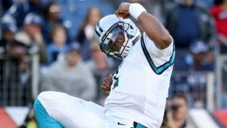 Ron Rivera Had Only One Problem With Cam Newton's Touchdown Dance