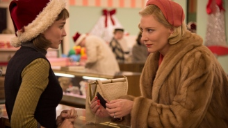 Delta Is Screening A Version Of 'Carol' With All Of The Kissing Removed