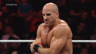 WWE Superstar Cesaro May Be Out Of Action For 4-6 Months