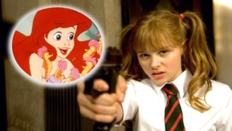 Chloe Moretz Is The Next 'Little Mermaid' For A Live-Action Version Of The Story