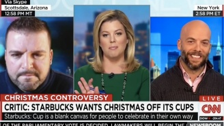 The Pastor Leading The Starbucks Red Cup Charge Got Put In The Corner On CNN
