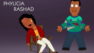 'Family Guy' Imagined What 'The Cosby Show' Opening Credits Would Look Like Now