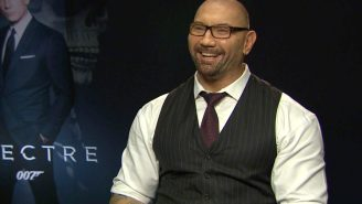 Dave Bautista on being the scariest Bond villain of all time