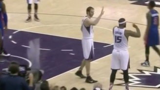 After DeMarcus Cousins Freely Ignores Kosta Koufos' High-Five, They Complete One On Twitter