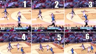Can We Talk About This Ridiculous Six-Step Travel From D.J. Augustin?