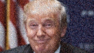 Someone Made A Donald Trump Mosaic Out Of The Most NSFW Thing