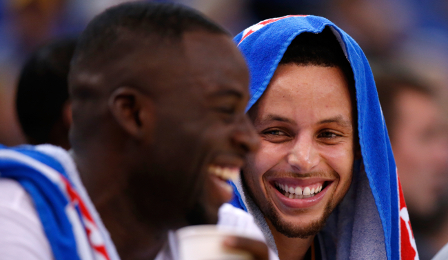 Draymond Green, Stephen Curry