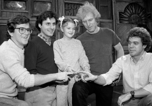 33 years ago today, Drew Barrymore became the youngest person to ever host 'SNL'