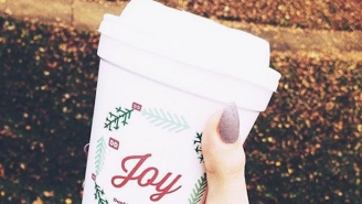 Dunkin' Donuts Does A Reverse Starbucks, Unveils Very Festive Holiday Cups