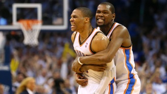 Kevin Durant Congratulated Russell Westbrook On 'F***in Balling Out' In His MVP Season