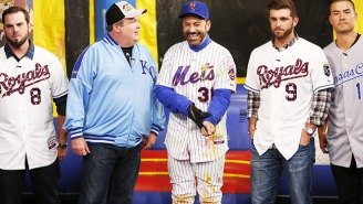 Eric Stonestreet And A Few Royals Players Shot Paintballs At Mets Fan Jimmy Kimmel