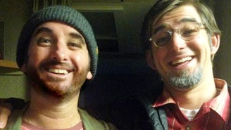 This Father And Son Dressed Up As One Another For Halloween, And The Result Was Uncanny