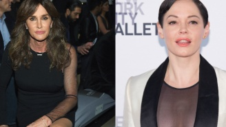 Rose McGowan Dissed Caitlyn Jenner's 'Woman Of The Year' Speech And Then Backtracked
