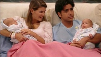 24 years ago today: Uncle Jesse and Becky's twins were born on 'Full House'
