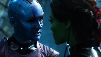 Karen Gillan Promises 'Guardians Of The Galaxy 2' Will Focus On Gamora And Nebula's Relationship