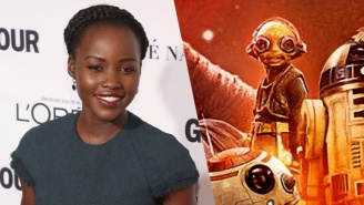 J.J. Abrams Revealed Details About Lupita Nyong'o's 'Star Wars: The Force Awakens' Character