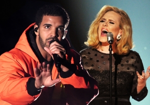 Drake Wants To Work With Adele So Bad He'll Even Do Her Laundry