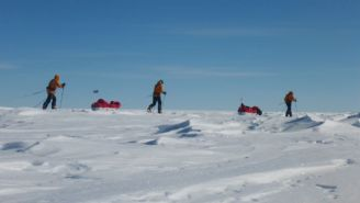The Antarctic Is Gaining Ice… But In The Wrong Places