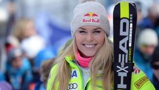 Lindsey Vonn Suffered A Gruesome Hand Injury While Trying To Break Up A Fight Between Her Dogs