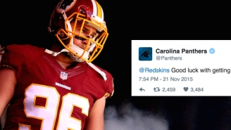 The Redskins Tried Talking Trash On Twitter And Got Burned By The Carolina Panthers